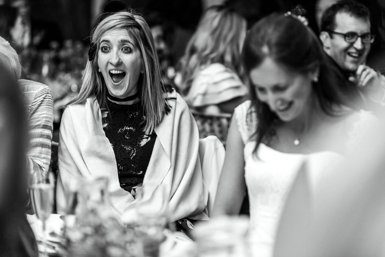 Speeches at Hampshire Wedding