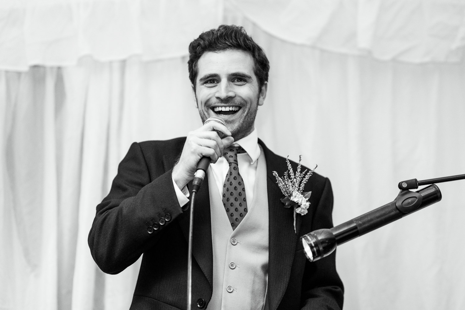 Speeches at Hampshire Wedding