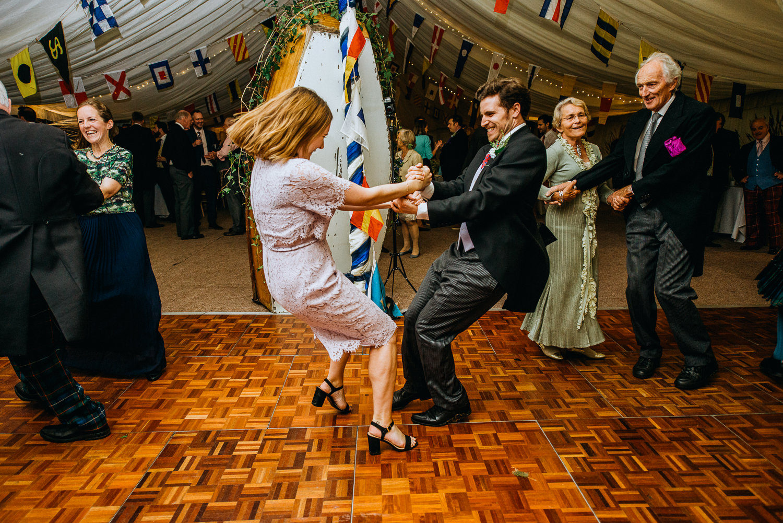 Ceilidh Band at wedding