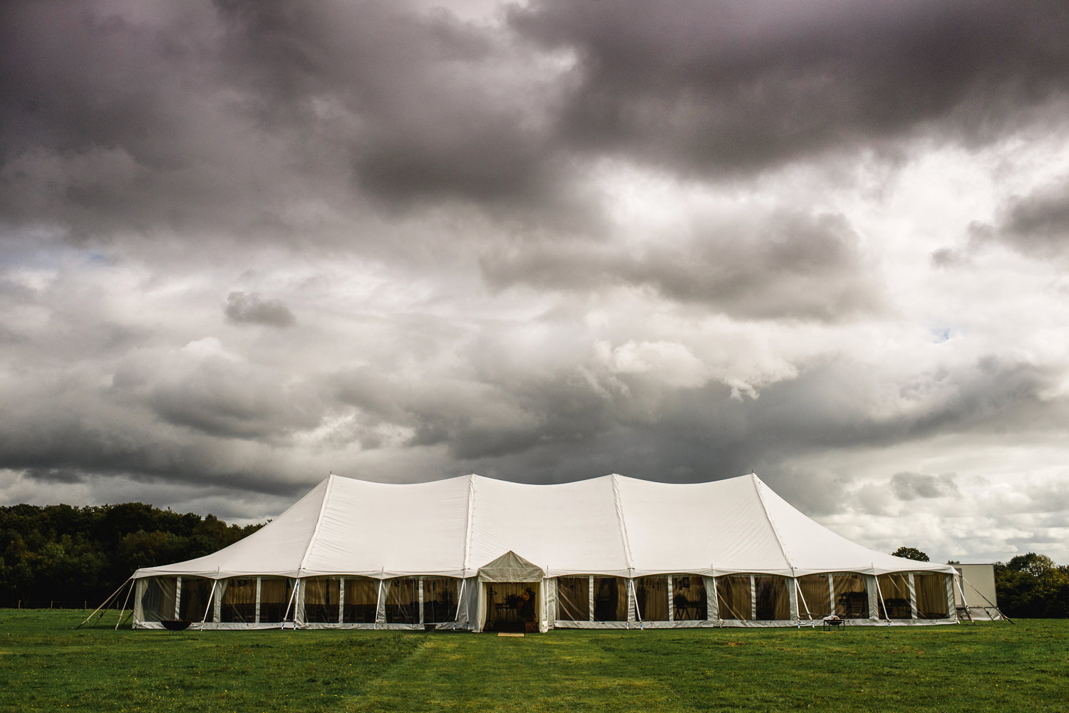 Hampshire Marquee Wedding Photography