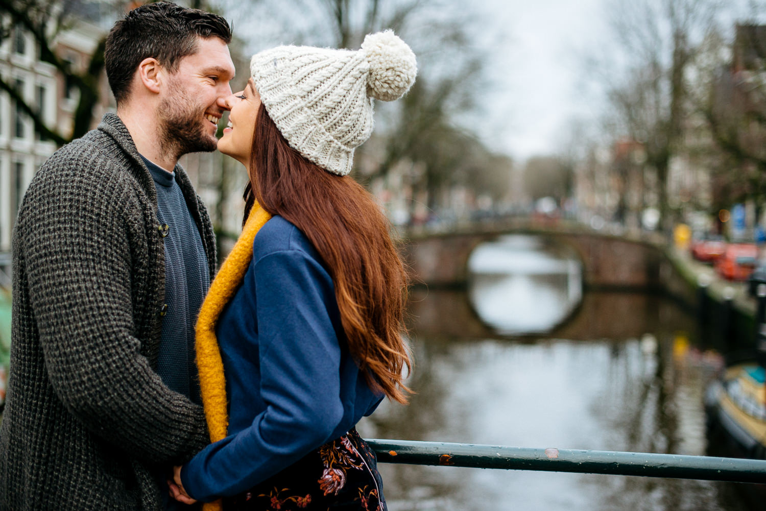couple shoot in Amsterdam