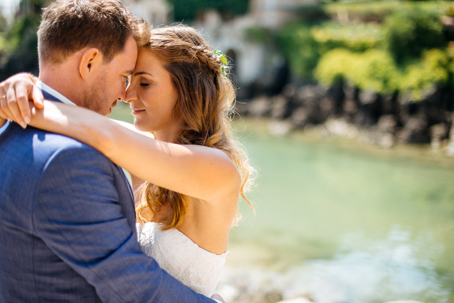 Cascais Portugal wedding portraits