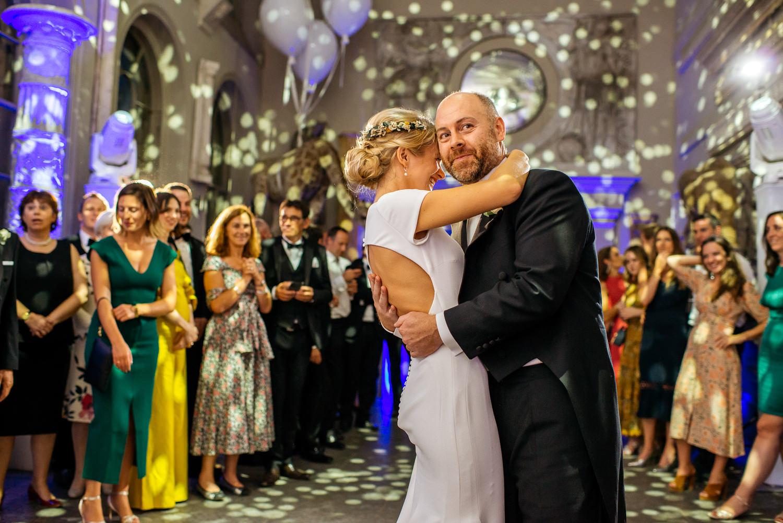 Aynhoe Park Wedding Photography first dance