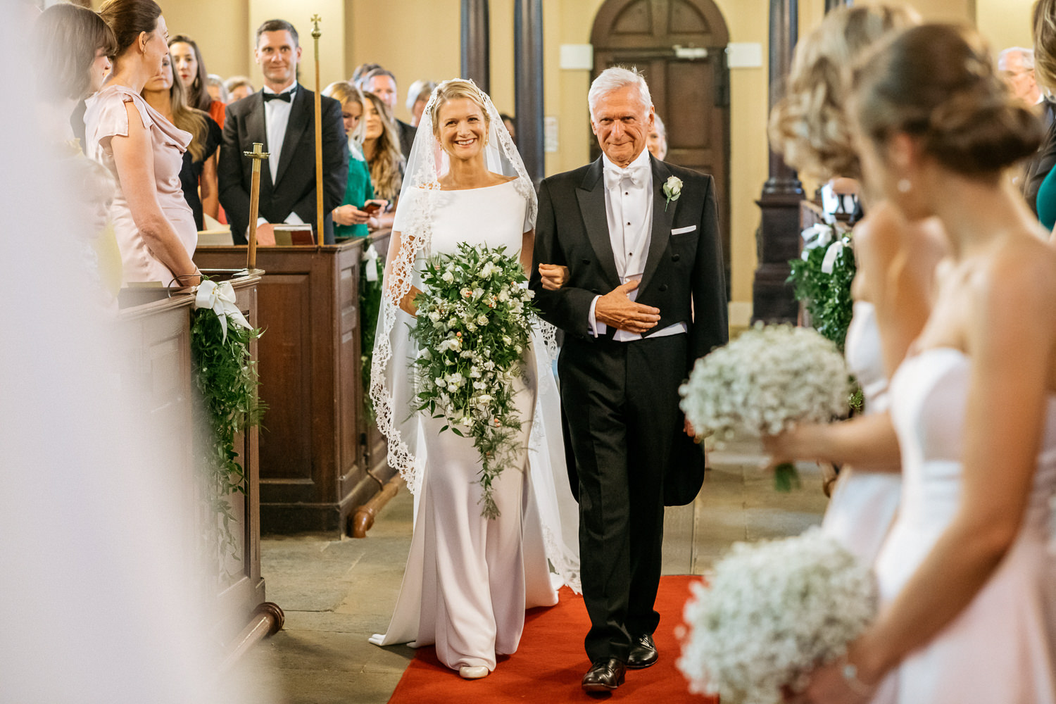 Ceremony at St Michael's Aynhoe