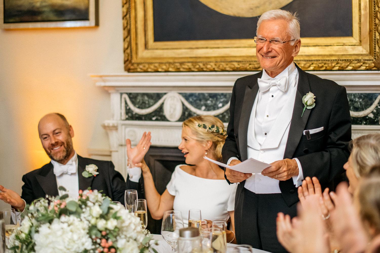 Aynhoe Park Wedding speeches