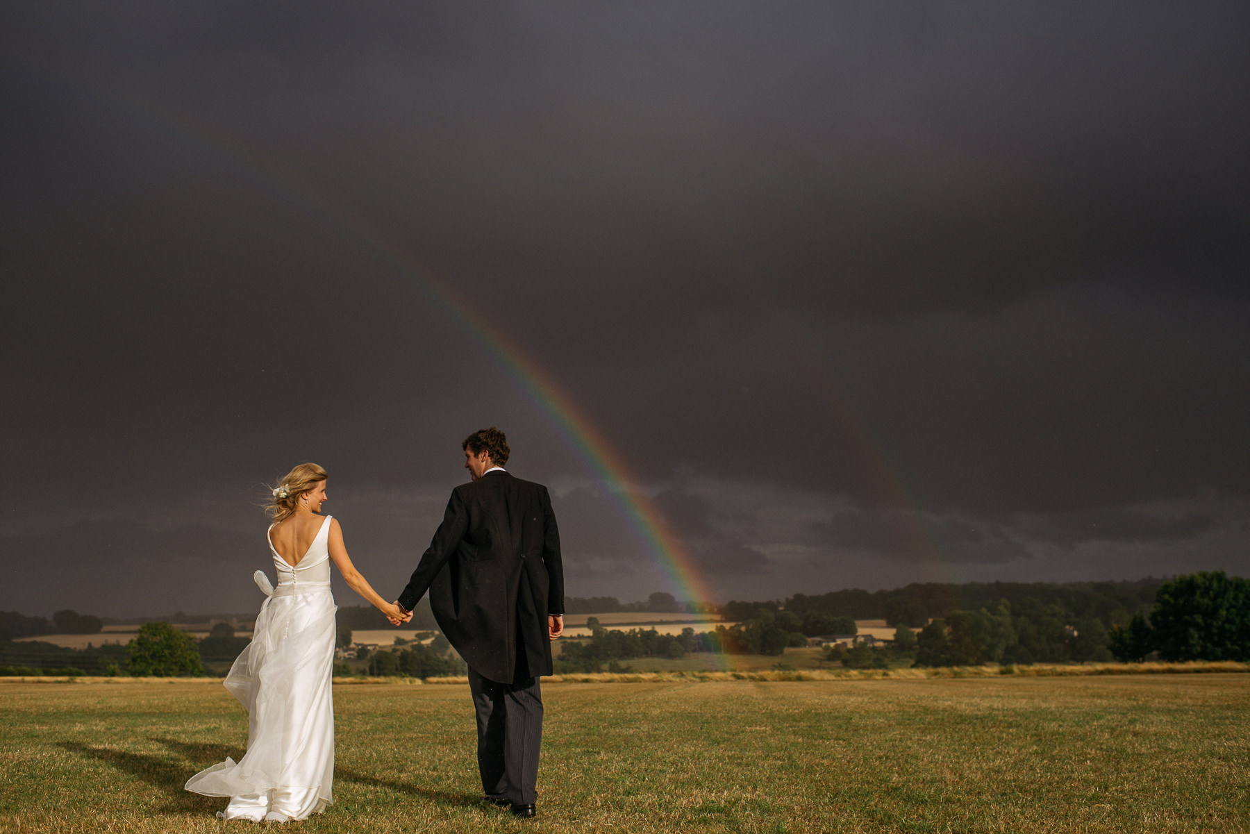 Cotswolds Field of Dreams wedding