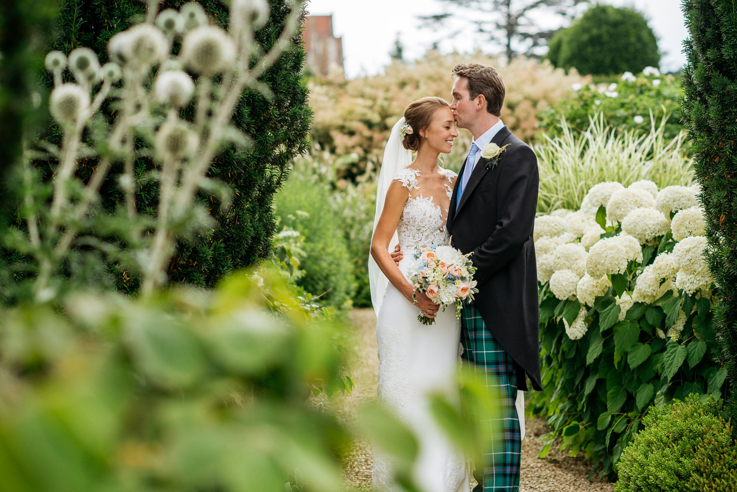 wedding portraits Loseley Park Wedding