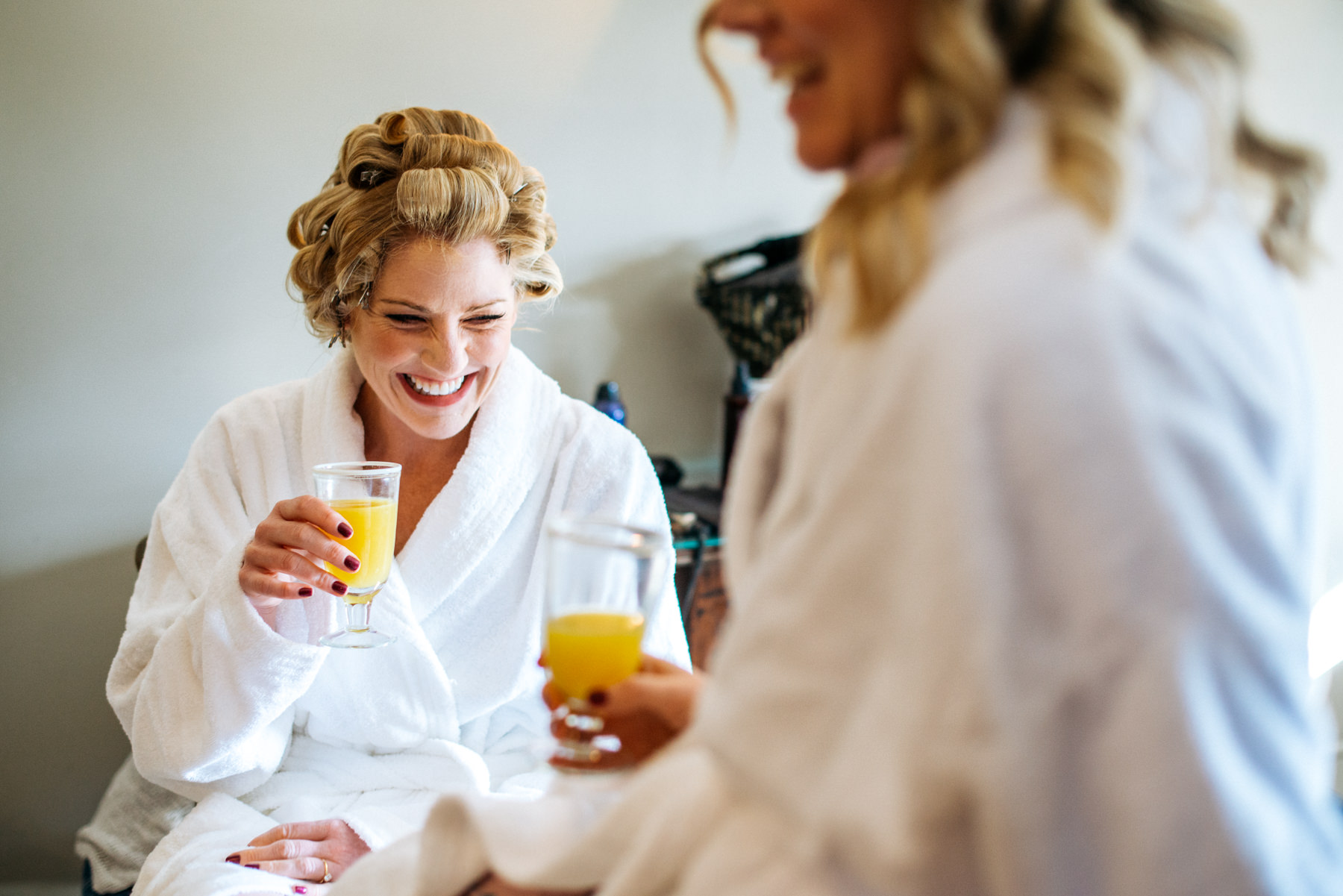 Bridal preparations Cotswolds