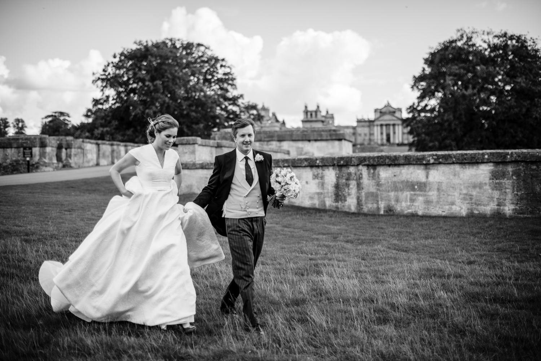 Wedding portraits at Blenheim Palace