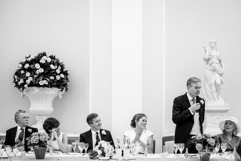 Speeches at Blenheim Palace