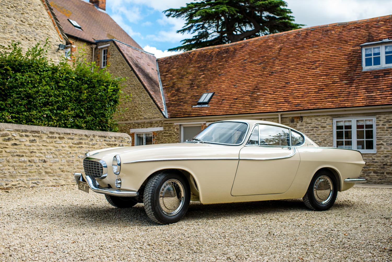 Cream Ford wedding car