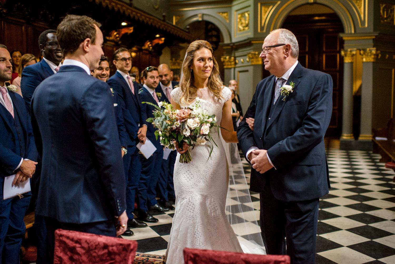 The Brompton Oratory wedding ceremony