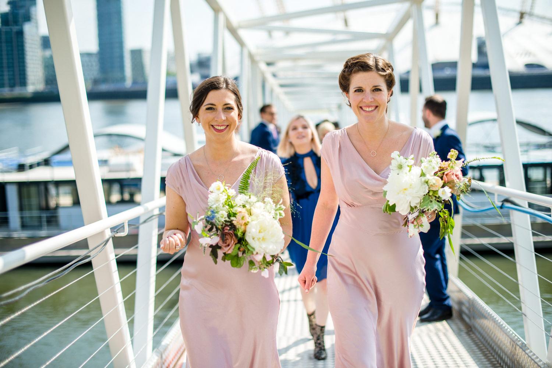 thames clipper wedding transport