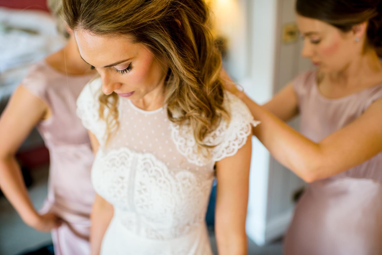 Capitol Hotel wedding preparations