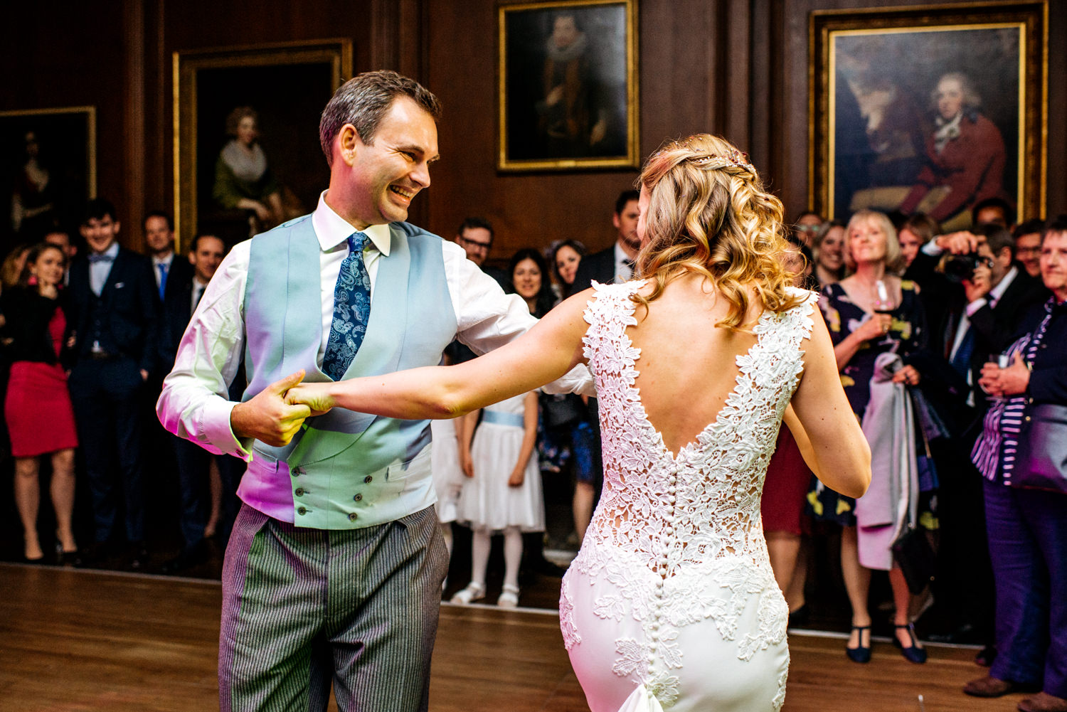 first dance at Cowdray