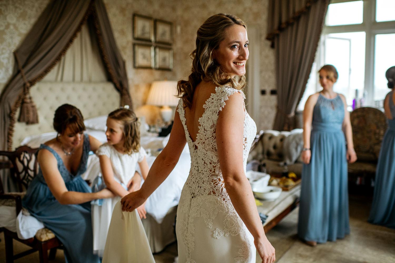 Cowdray House Wedding Preparations