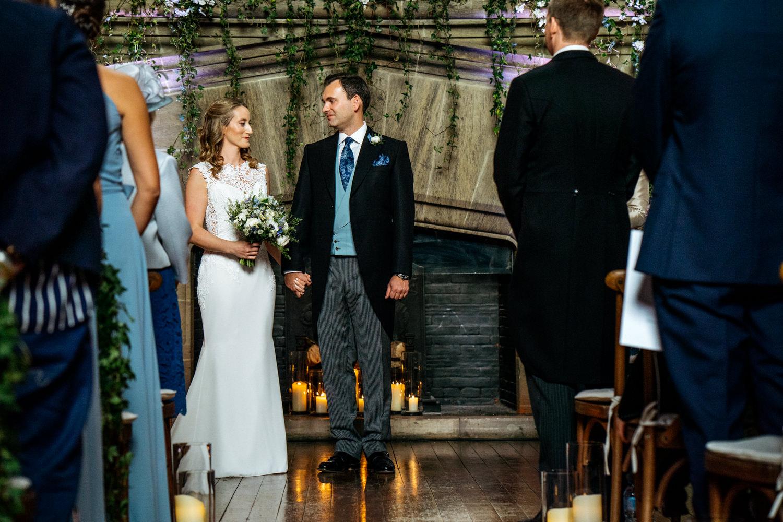 Cowdray House Wedding in Buck Hall