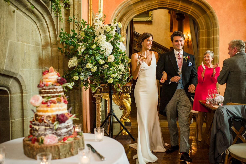 Buck Hall wedding reception at cowdray house