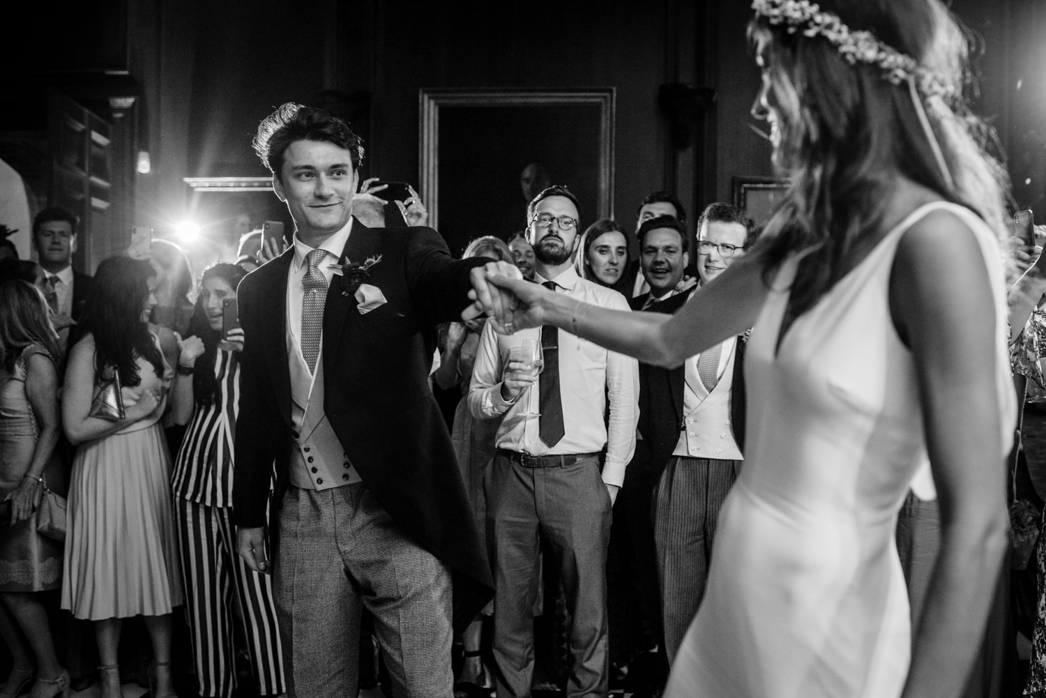First dance at Cowdray House
