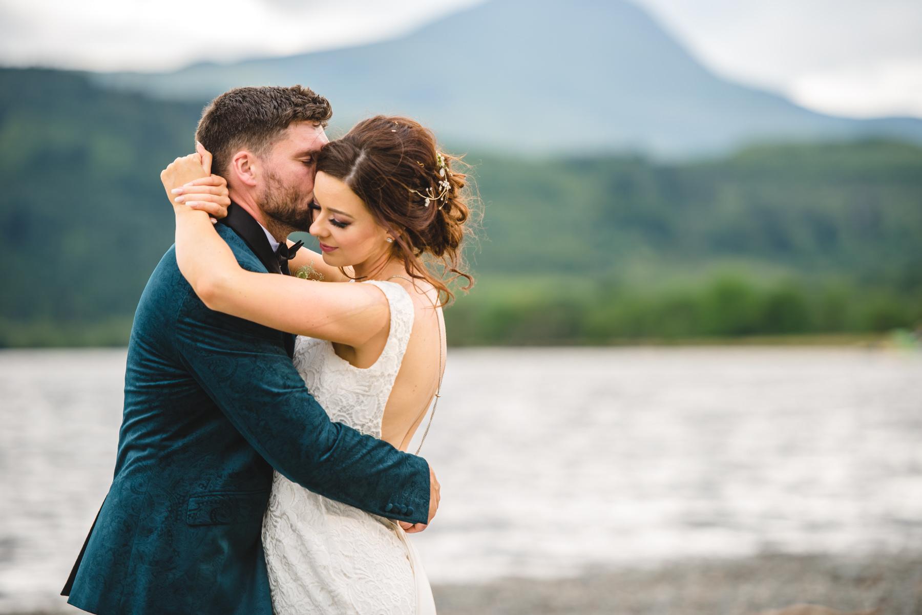 Ben Lomond wedding portraits
