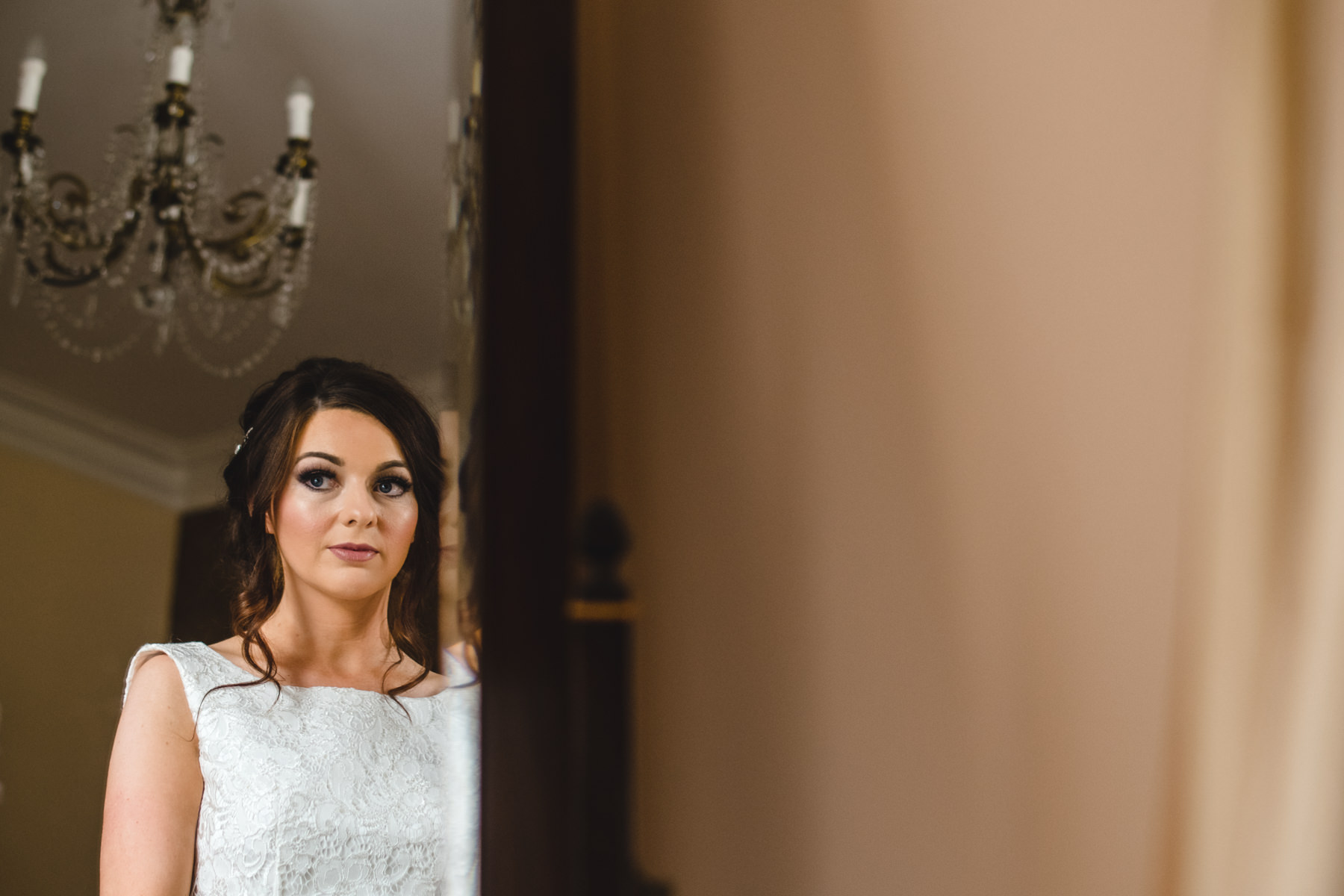 Bridal makeup at Altskeith Country House Scotland Wedding