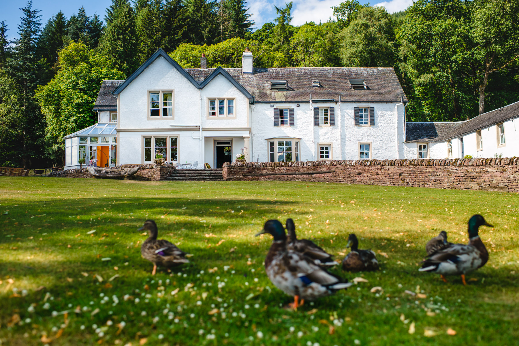 Altskeith Country House Scotland Wedding venue