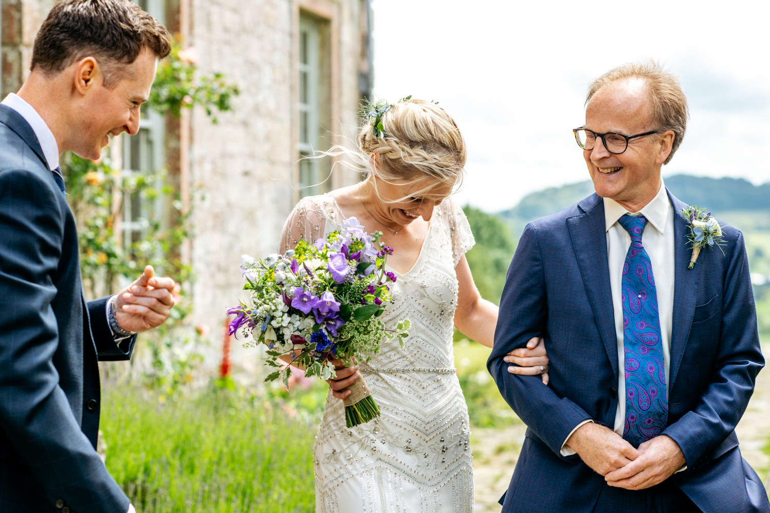 Outdoor Wedding Ceremony at Hatch House
