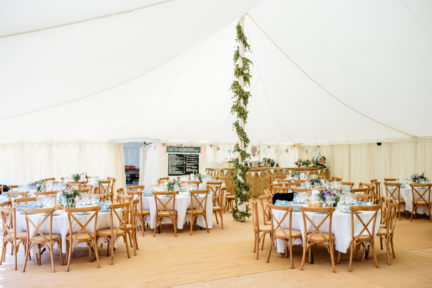 Marquee at Hatch House