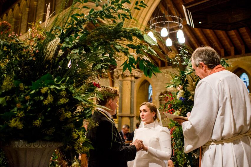 st mary kippington church Sevenoaks kent wedding ceremony